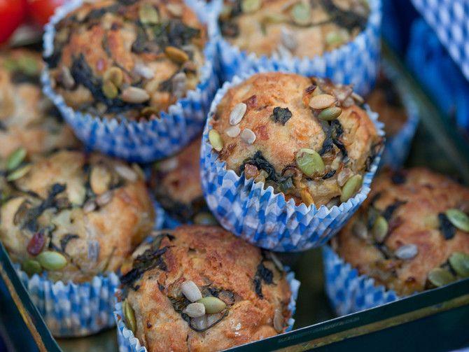 Muffinit sopivat mainiosti vaikkapa rapujuhlien alkupalaksi.