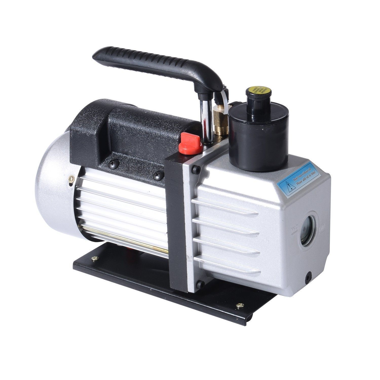 Refrigerant Vacuum Pump Dual Stge 5 Cfm Rotary Vane 1 2 Hp Hvac Air Conditioner All Proceeds Go Vacuum Pump Handheld Vacuum Refrigeration And Air Conditioning