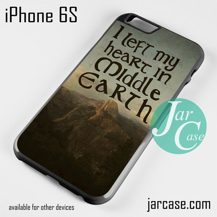 The Lord Of The Rings Middle Earth Quotes Phone Case For IPhone 6/6S/