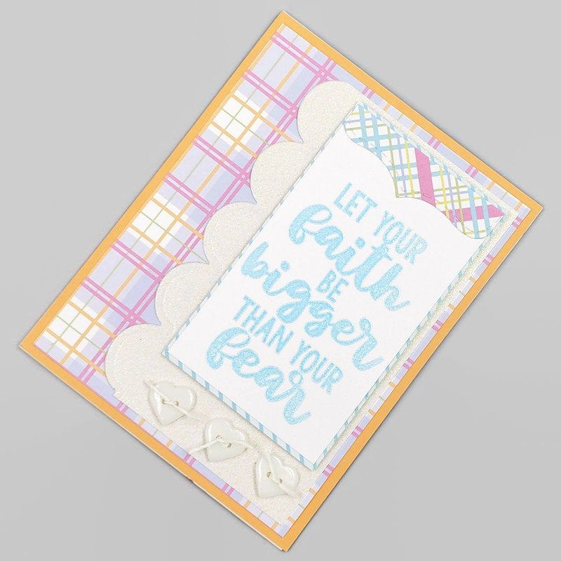 Follow Your Dreams I Believe In You Outdoorsman Themed Masculine Encouragement Card ~ 2019132