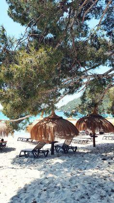 Beachrestaurant in Portocolom #travelbugs