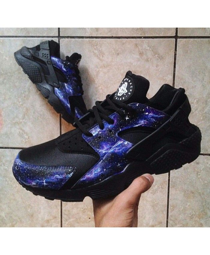 4c6cb779c7ad ... shopping nike air huarache galaxy black purpe trainer work very well  very color sense. a9a47