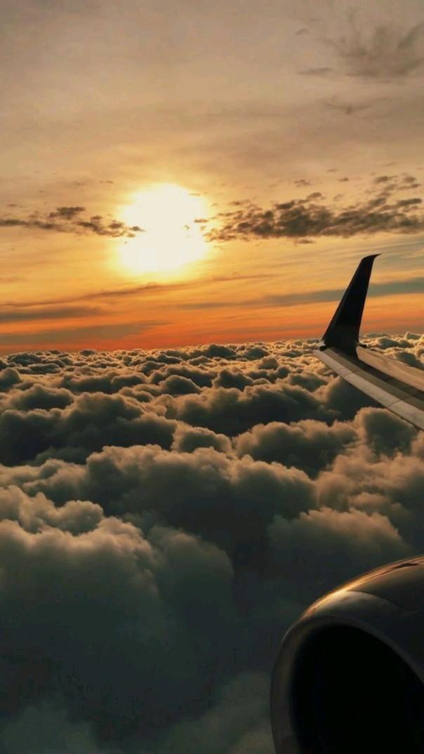 Sky from Plane Wallpaper