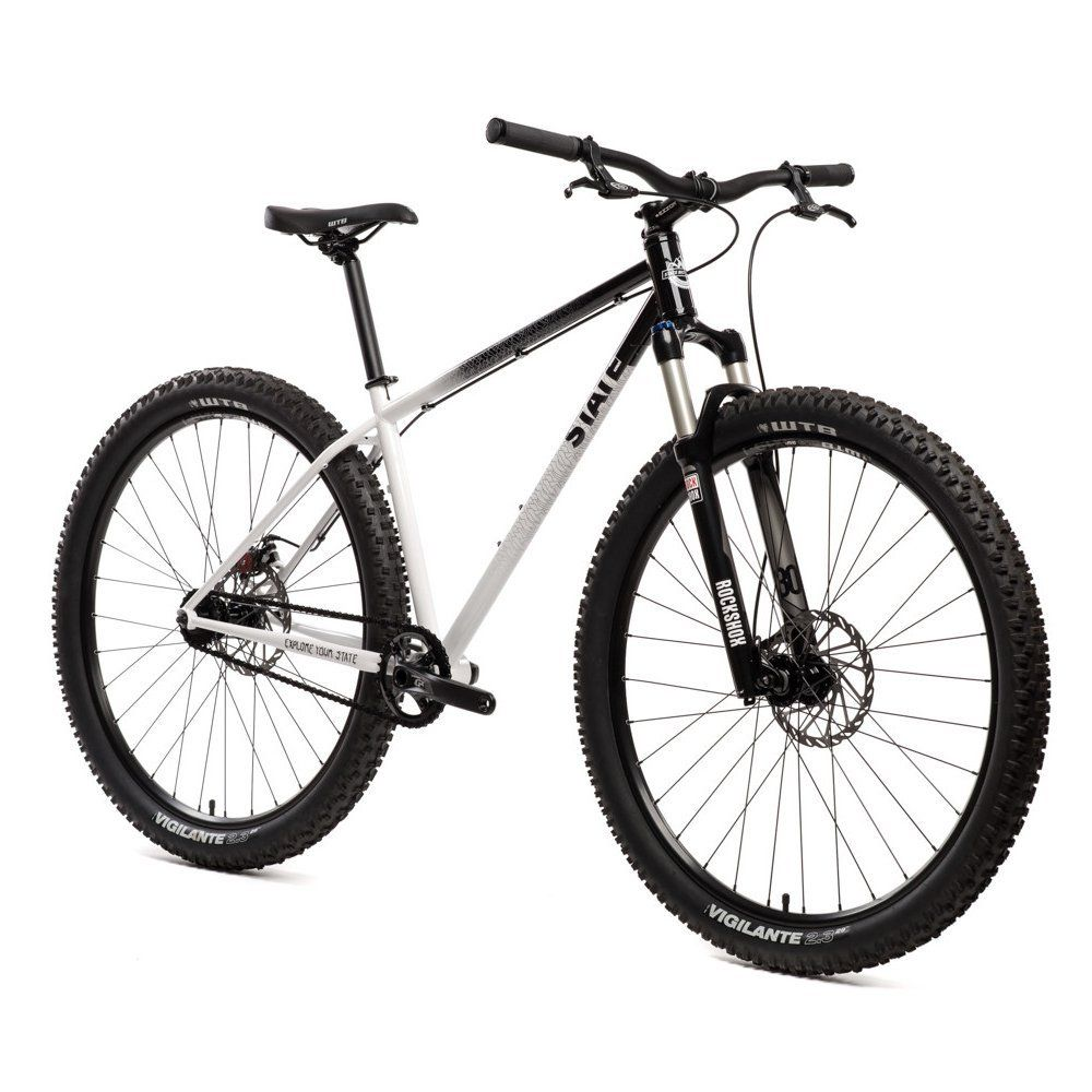 Amazon.com : State Bicycle Co Pulsar Single Speed 29er Mountain Bike : Sports & Outdoors