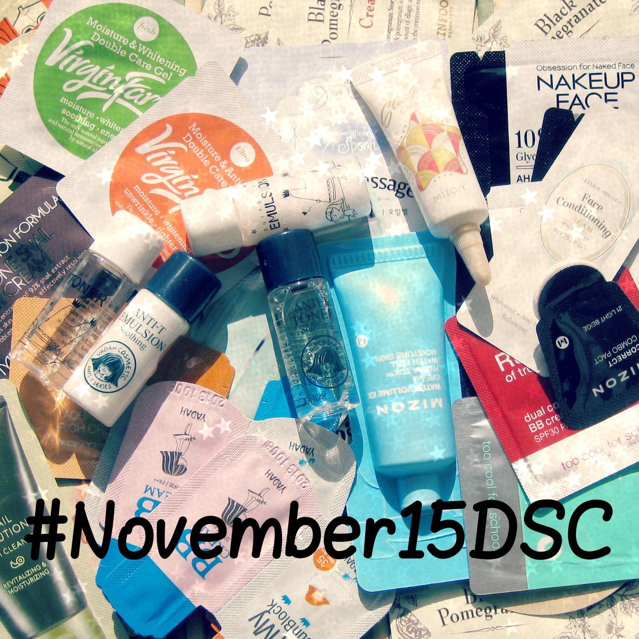 CamomilleBeautyTime: Ноябрьский марафон пробников #November15DSC с Camo...