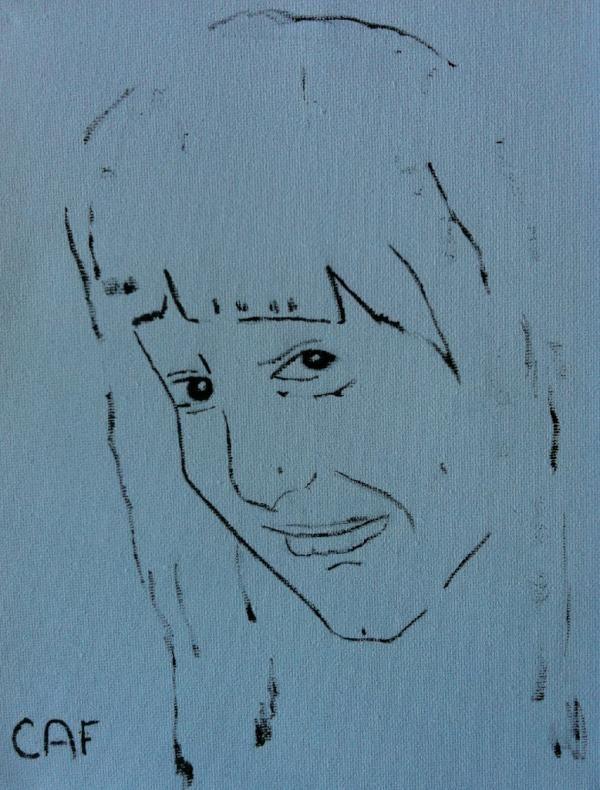 Retrato.  Acrilico 20x25cm  pic.twitter.com/jiDrAIU3
