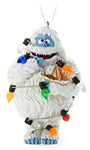 bumble the abominable snowman hallmark rudolph the red nosed reindeer christmas tree ornament - Abominable Snowman Rudolph Christmas Decoration