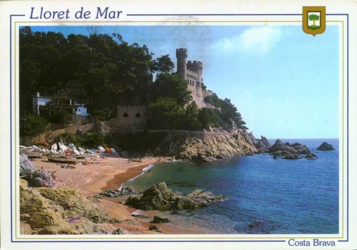 Castle at Lloret de mar