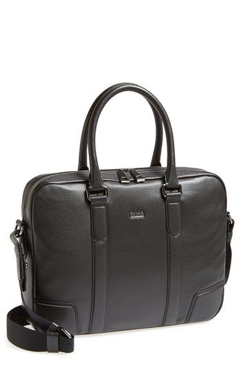 246db20c1a66 BOSS HUGO BOSS  Morval  Leather Work Bag