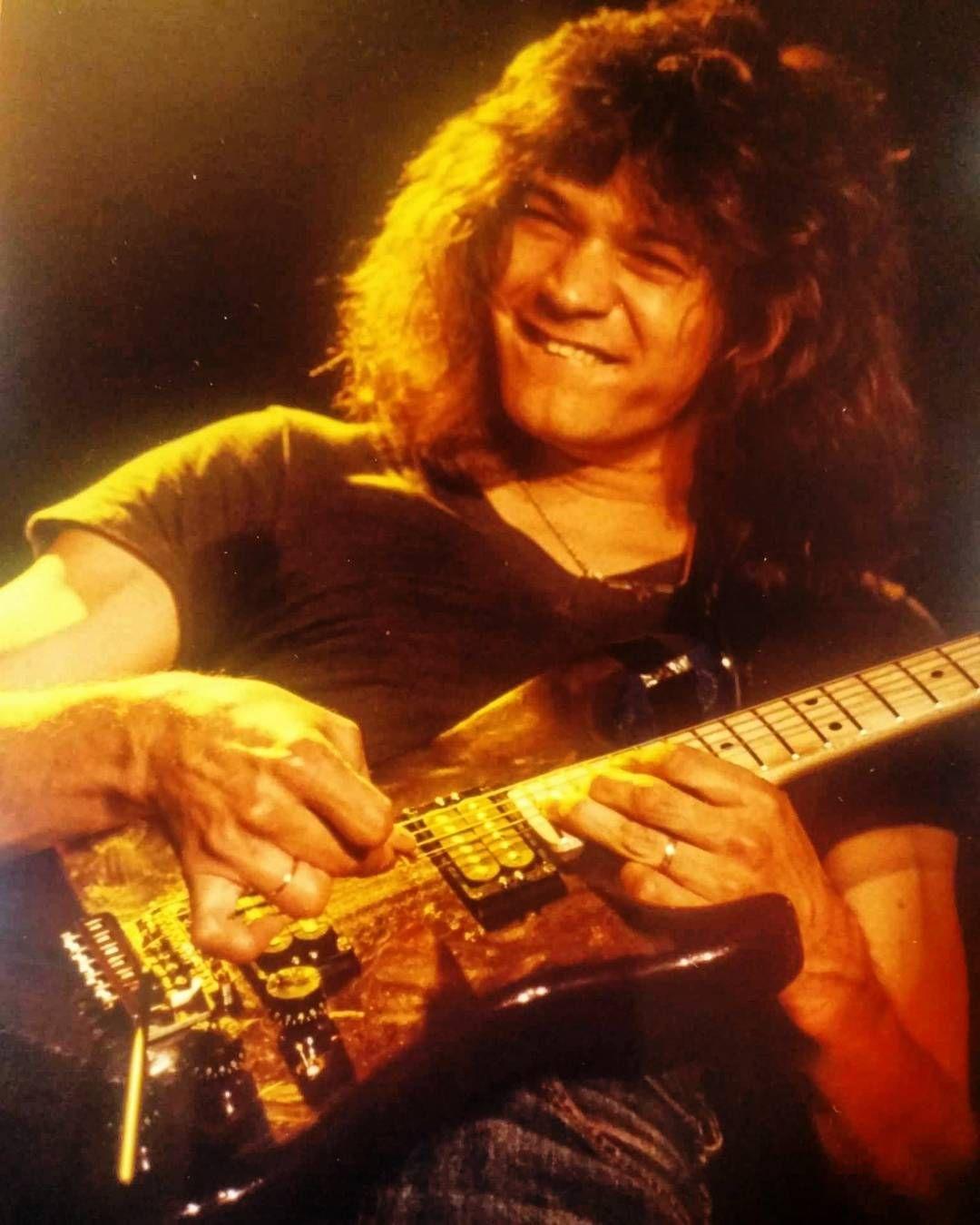 Eddie W Alan Holdsworth Special 1982 Eddie Van Halen Van Halen Heavy Metal Music