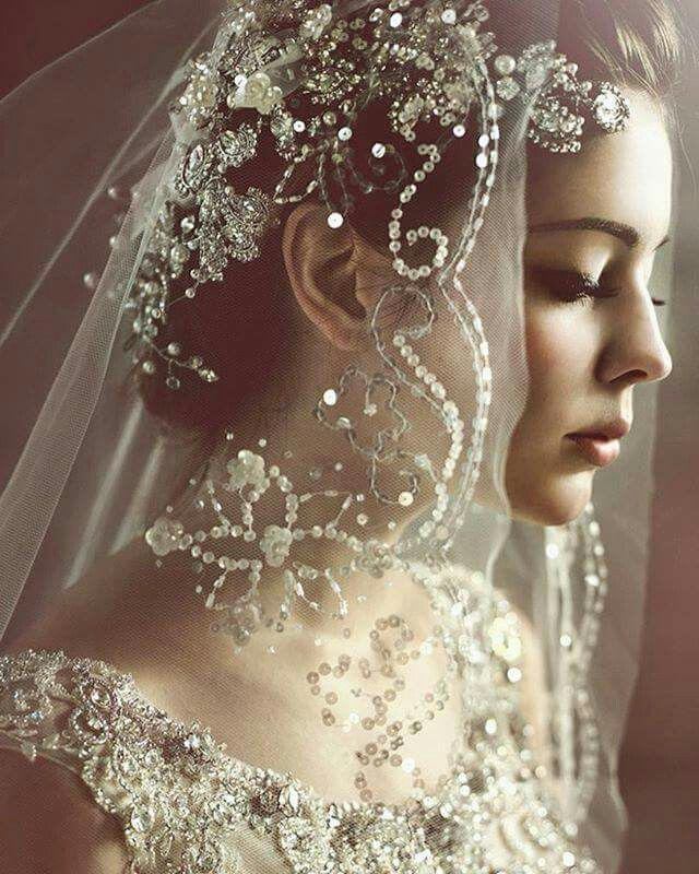 39 Stunning Wedding Veil Headpiece Ideas For Your 2016: Pin By Jynx Di Iettura On Ceremony Bridal Accessories