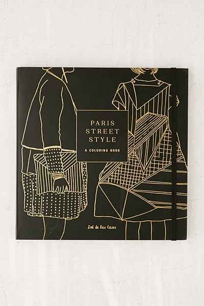 Paris Street Style A Coloring Book By Zoe De La Cases