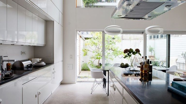 Cocinas en blanco: nuestras favoritas! | Deco Kitchens | Pinterest ...