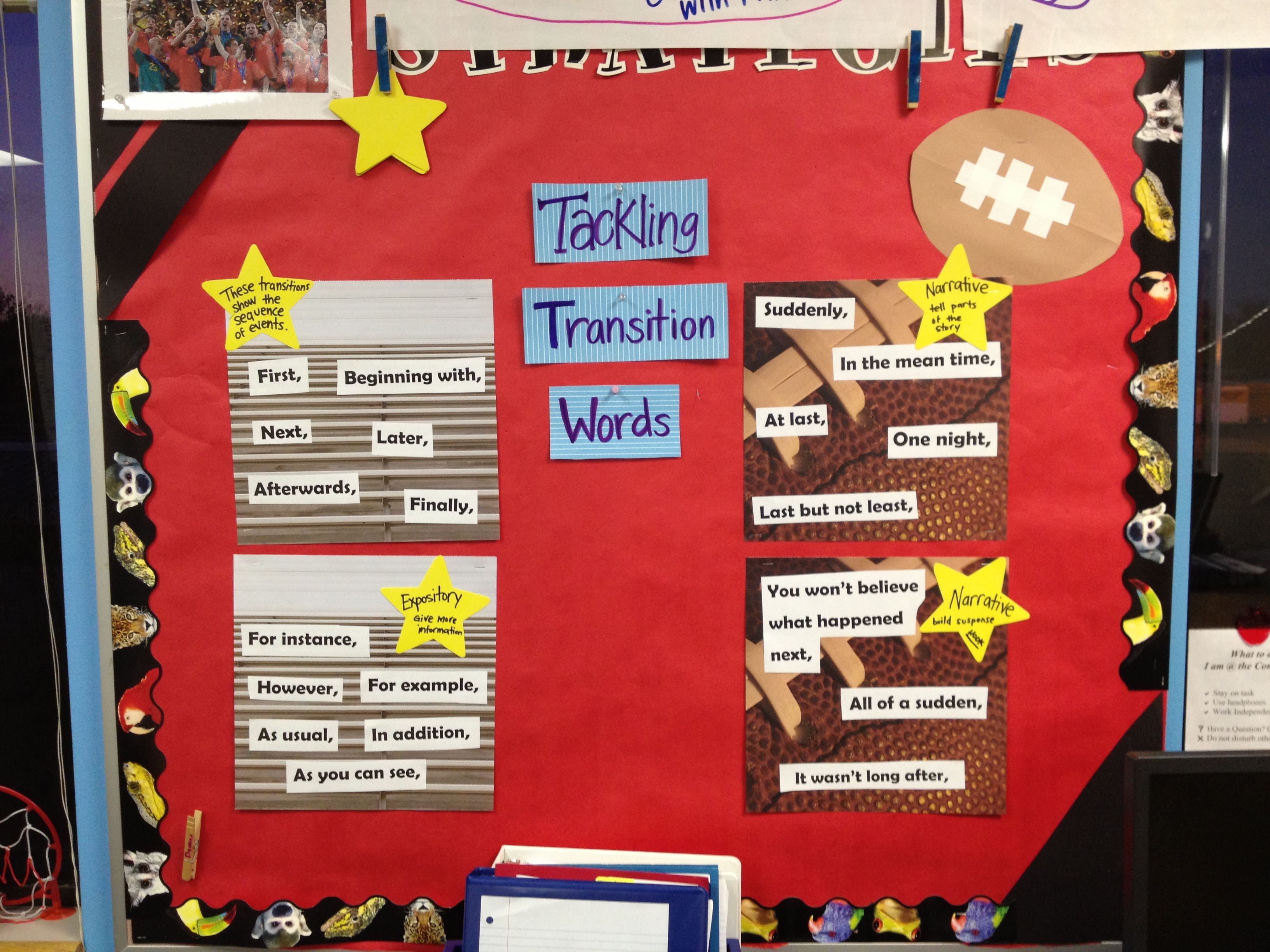 Tackling Transition Words 4th Grade Writing Expository