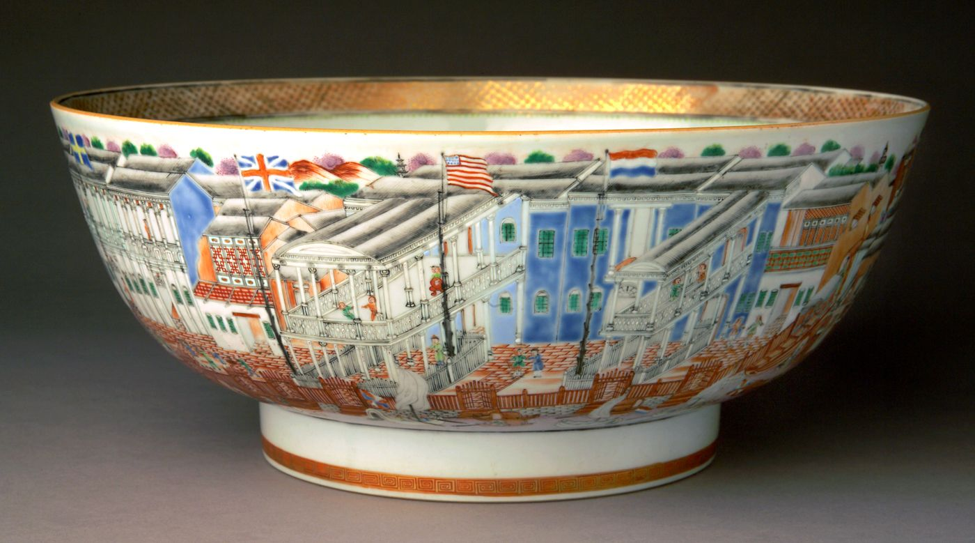European Decorated Chinese Porcelain Porcelain Chinese Porcelain Chinese Export