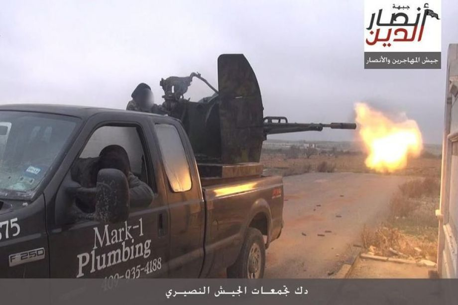 Texas Plumber Files Lawsuit Over His Truck in Jihadist Photo December 15, 2015 Texas plumber files lawsuit In 2013, Texas plumber Mark Oberholtzer sold his truck to a dealer in Houston. The truck, a 2005 Ford F-250, had his business name and phone number in decals on the [...] http://unclesamsmisguidedchildren.com/texas-plumber-files-lawsuit-over-his-truck-in-jihadist-photo/