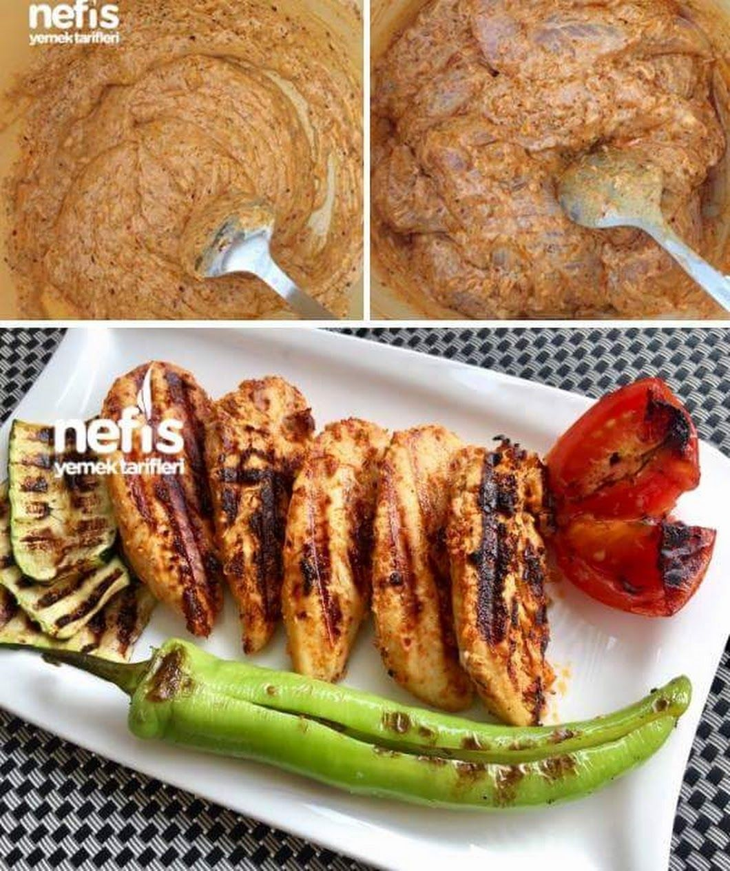 Fırında Soslu Tavuk Baget Ve Baharatlı Patates Videosu
