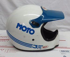 Bell Moto-3 550 Replacement Visor Striples Blue//Black