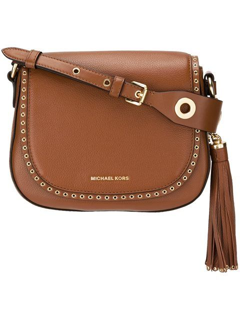 88a2557034 MICHAEL MICHAEL KORS  Brooklyn  saddle crossbody bag.  michaelmichaelkors   bags  shoulder bags  leather  crossbody
