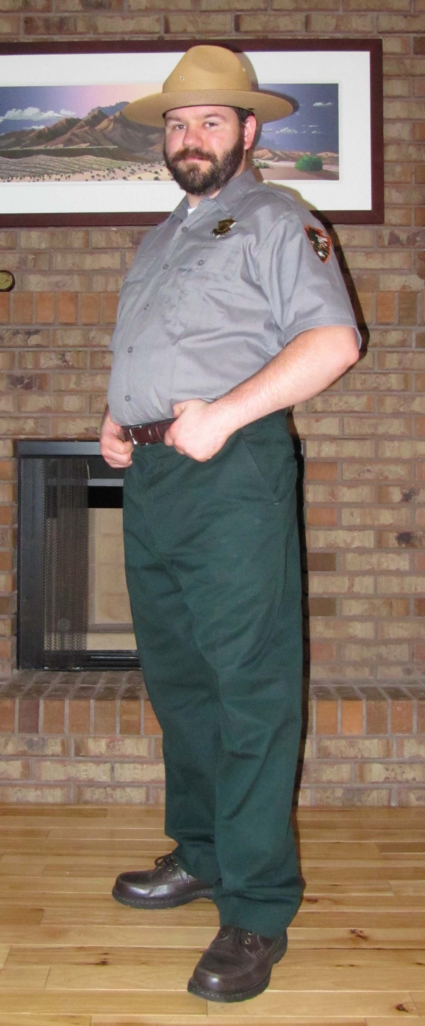 my park ranger outfit for halloween 2013 | various uniforms