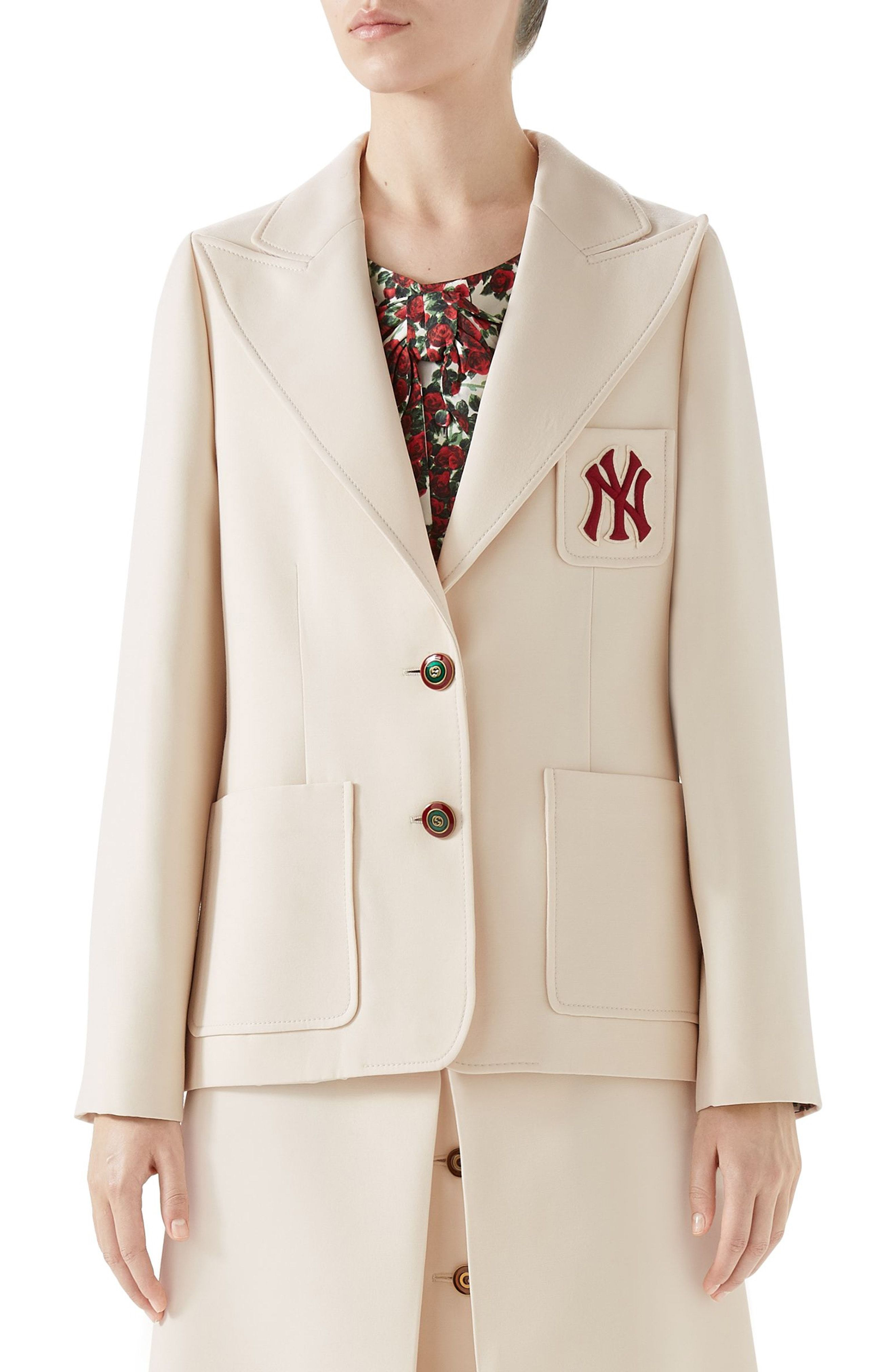 75ca997aee8 Gucci NY Patch Blazer available at  Nordstrom