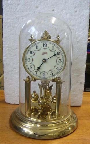 vintage german schatz 400 day anniversary clock working great condition ebay - Anniversary Clock
