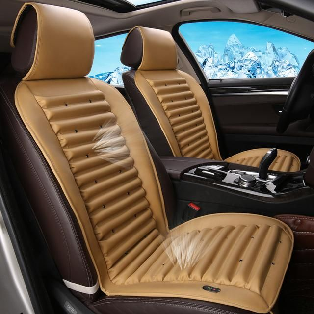 Car Seat Cooling Massage Leather Seat Cover 12v Best Car Seat