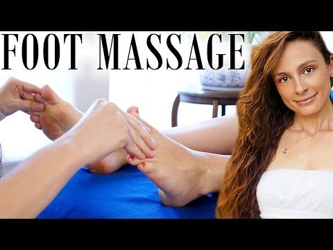 Awesome Foot Massage Techniques Swedish Massage Therapy W