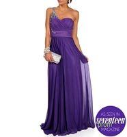 Mori-Bright Lilac Prom Dress