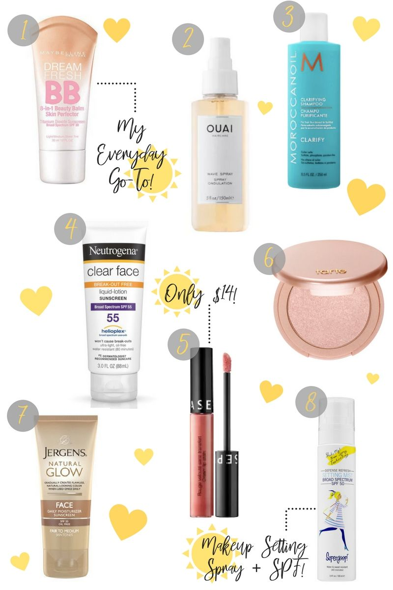 Best Beauty Products For A Beach Vacation Lo Meyer Vacation Beauty Beach Beauty Beach Makeup