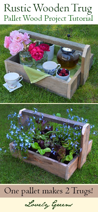 Pallet Project Diy Rustic Trugs Planters Wood 400 x 300