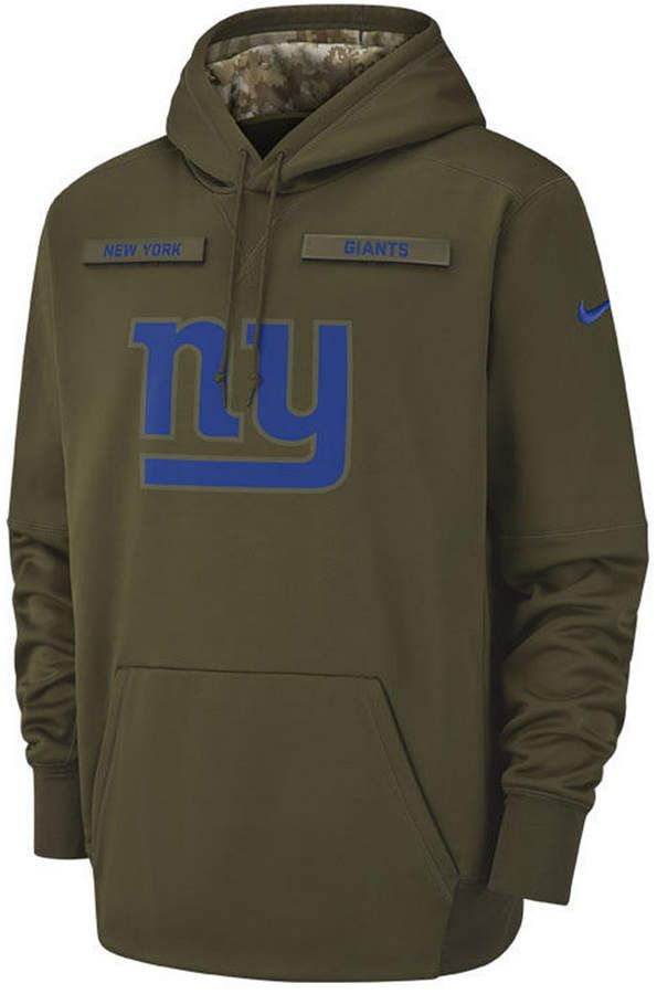 the latest 6007a d3ee8 Men's New York Giants Salute To Service Therma Hoodie ...