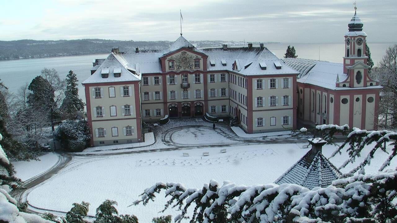 Schloss Mainau, Insel Mainau, Konstanz, DE am 25.01.2015
