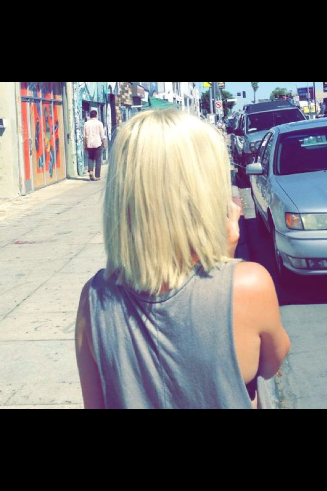 the back of Bea's hair