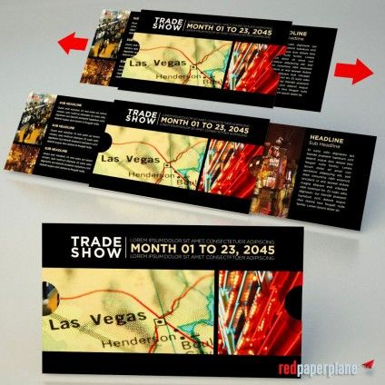 The Extendo Destination Las Vegas Trade Show Invitation Design