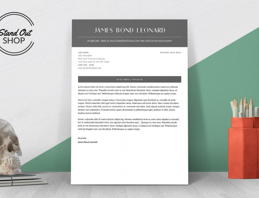 James Bond Leonard Resume Template Stand Out Shop James Bond - resume templates that stand out