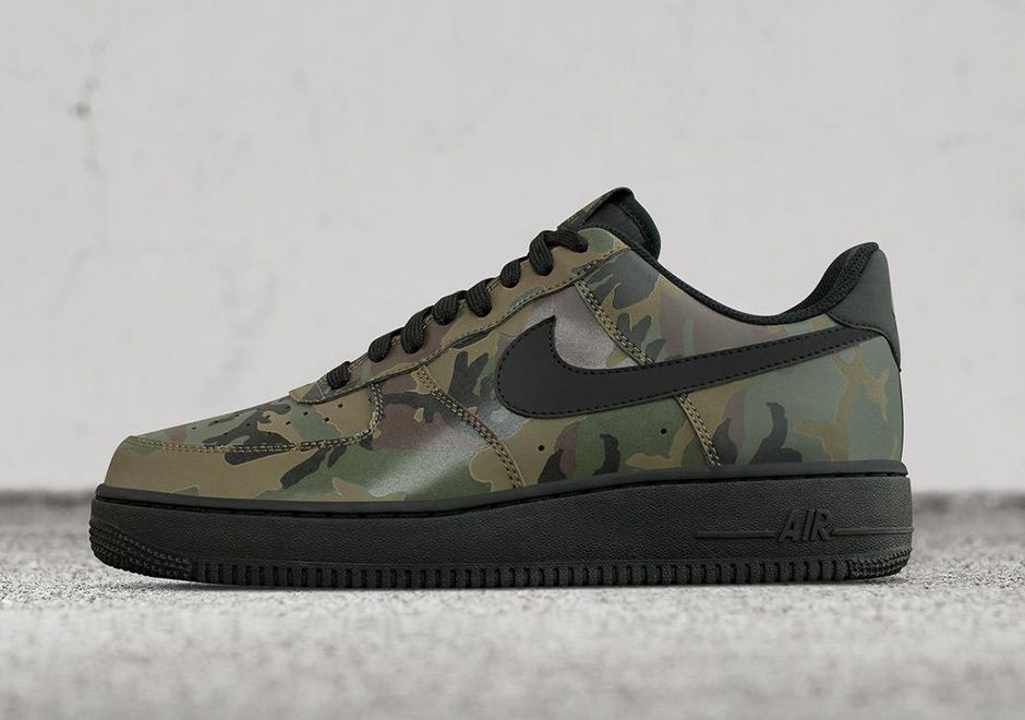 Nike iD Adding 7 Camo Options for the Air Force 1 - EU Kicks Sneaker  Magazine