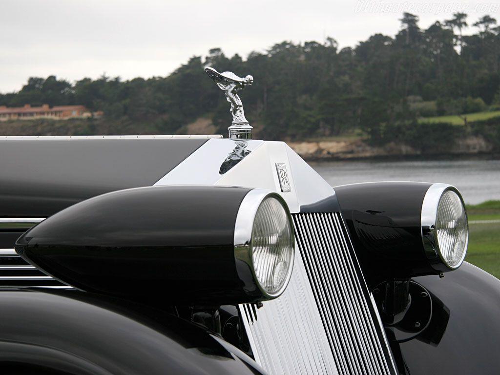 1932 Rolls-Royce Phantom I Jonckheere Coupe