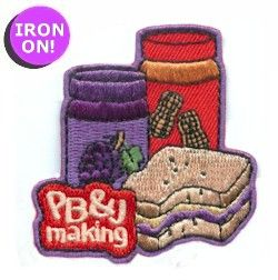 View Peanut Butter and Jelly Making Fun Patch