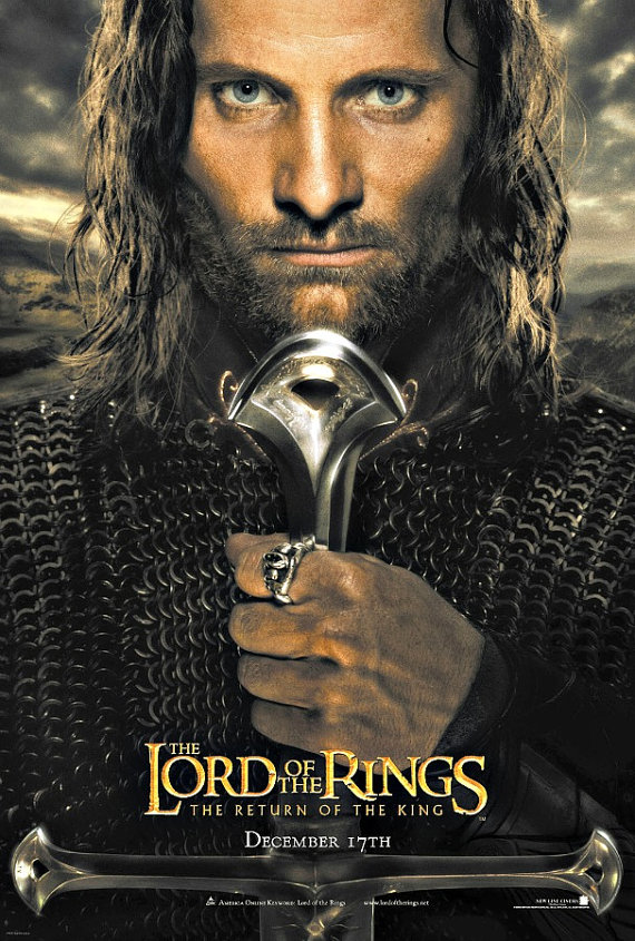 The Return Of The King Aragorn Cross Stitch Pattern Pdf Format In