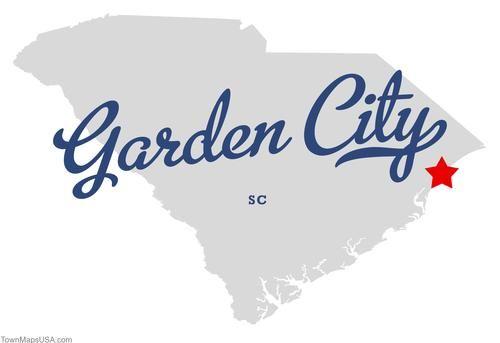 Garden City Sc Map Of Garden City South Carolina Sc With