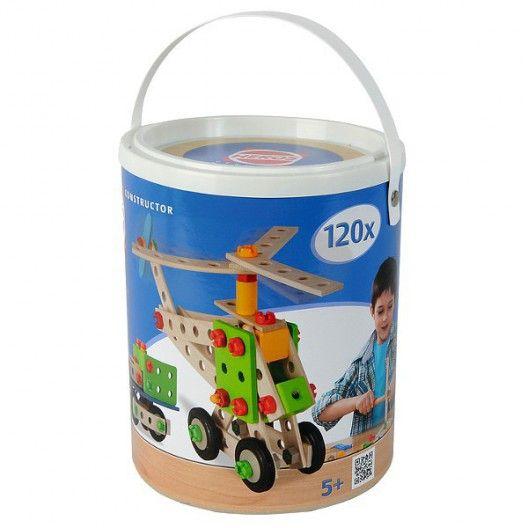 Simba Smoby Heros Cubo de Bloques de construcci/ón 120 Piezas