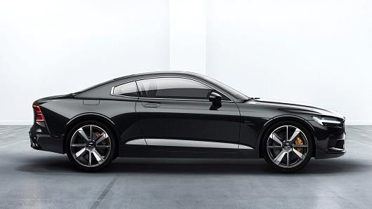 Volvo Unveils Polestar 1 Sports Coupe