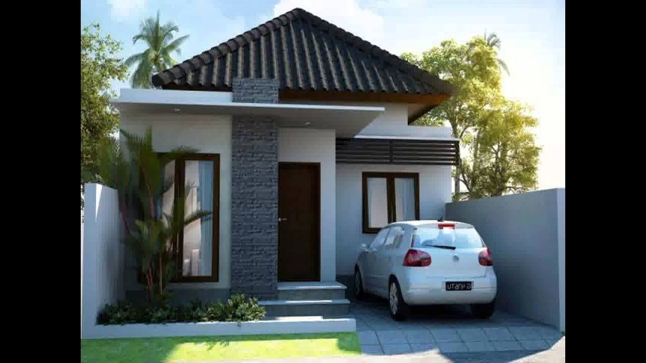Desain Rumah Minimalis Pintu Samping Di 2020 | Rumah Minimalis, Rumah  Beton, Desain Rumah