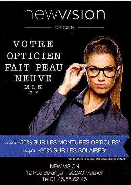 7ba03bd469116c Le flyer d un Opticien Face 1   Commerce   Pinterest