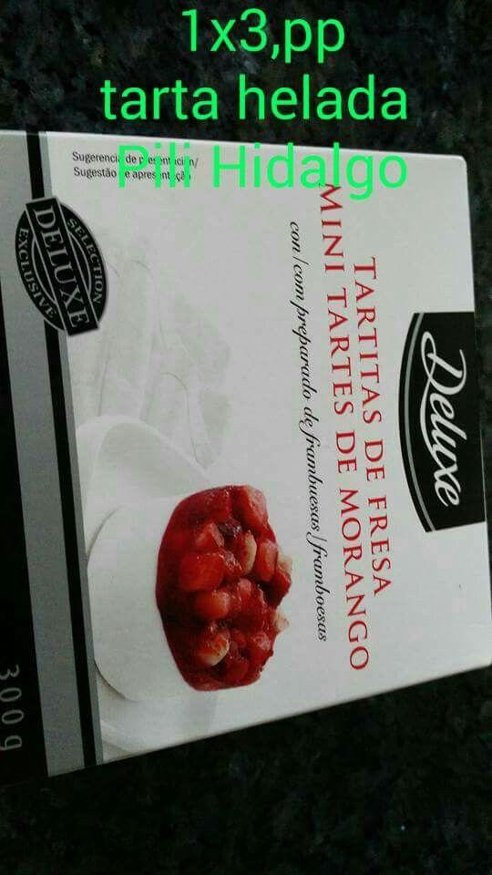 Tartitas de fresa