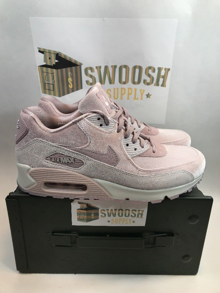 75bf302ea8bf9 WOMEN S NIKE AIR MAX 90 LX SHOES PARTICLE ROSE 898512-600 SIZE 10  NIKE   AthleticSneakers