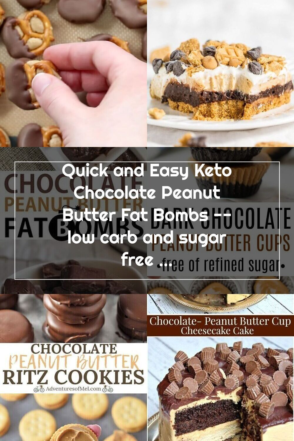 Pin on Chocolate Peanut Butter
