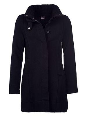 barbour women's millfire knit black
