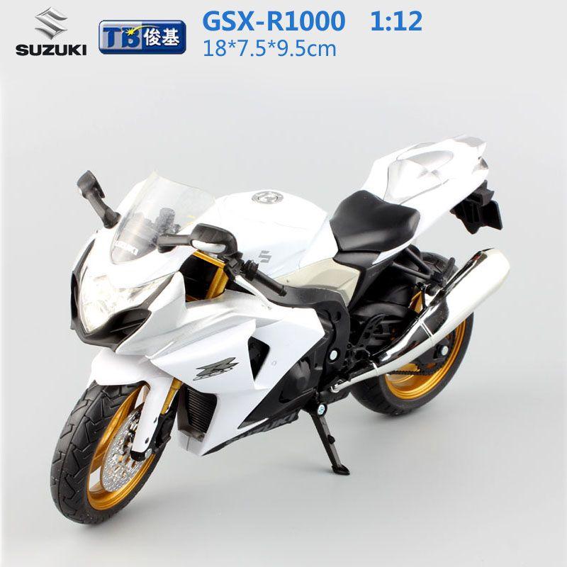 1:12 scale kids moto GSX-R1000 super motorcycle Alloy Die cast metal ...
